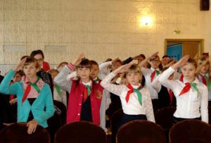 В Верхнедвинске прошёл районный пионерский сбор
