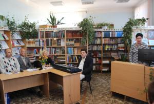 У Верхнядзвінскай бібліятэцы адбылася сустрэча з членамі Саюза пісьменнікаў Беларусі