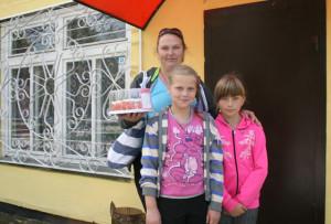 Н. Амерханова с детьми довольна открытием «Нестерки».