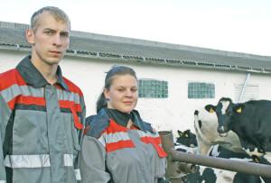 Молодая семья выбрала деревню на жительство