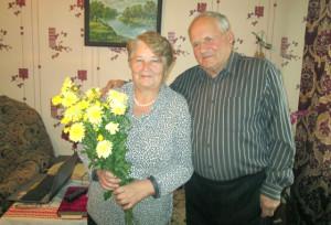 В Борковичах отметили «золотой» семейный юбилей