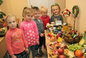 В детских садах проходят творческие выставки