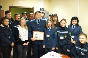 Верхнедвинский таможенник награждён медалью «За безупречную службу»