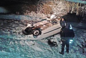Соблюдайте осторожность на зимней дороге