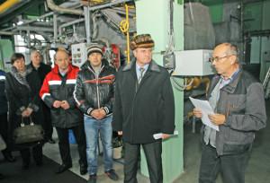 В. В. Завадский рассказывает  о работе  по энергосбережению.