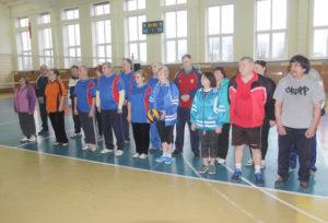 Соревнования по волейболу среди ветеранов