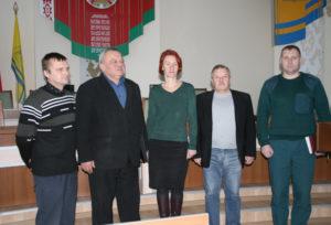 Участники семинара (слева направо) О. Ю. Захаров, А. Л. Степанов, С. В. Яковлева, С. Л. Мусинов, А. Г. Воецкий.