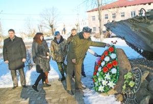 В Верхнедвинске прошёл митинг памяти воинов-интернационалистов