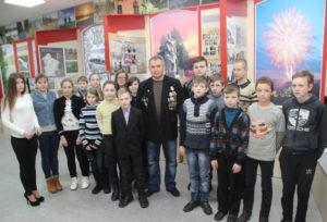 В Верхнедвинском музее прошла встреча, посвящённая Дню защитников Отечества