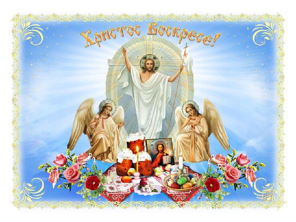 Поздравления христовым воскресеньем