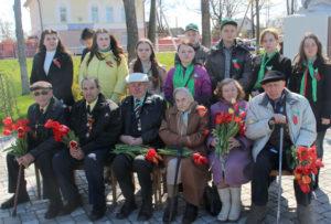 В Верхнедвинске торжественно отметили День Победы