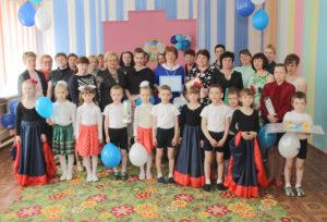 Воспитанники Верхнедвинского детсада №3 получили подарки к Международному дню защиты детей