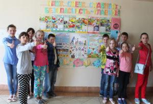 В Верхнедвинской гимназии работает детский лагерь для настоящих патриотов