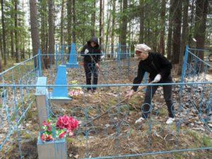 Как навести порядок на местах захоронения родственников