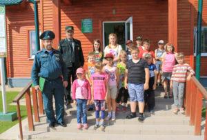 Верхнедвинская молодёжь участвует в акции «Летний патруль»