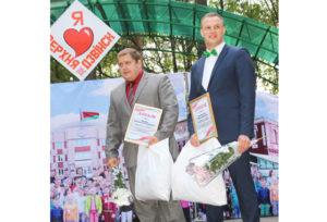 Канстанцін Шкіндзер  і Аляксей Калесніковіч.