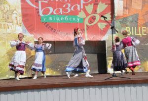 Верхнедвинцы приняли участие в фестивале «Славянский базар в Витебске»