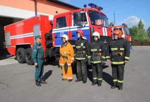 Профессиональный праздник отмечают спасатели