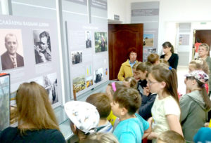 В Верхнедвинском музее  школьники изучают историю
