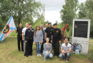 В Верхнедвинске побывали ветераны морской пехоты
