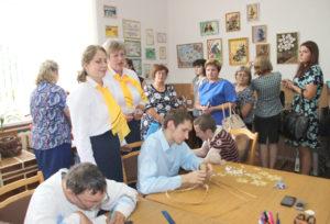 В Верхнедвинске прошло региональное методическое объединение представителей ТЦСОН Витебской области