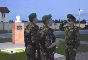 Полоцкому пограничному отряду исполняется 25 лет
