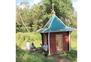 В целебном источнике Боровки вода — одна из лучших в Беларуси