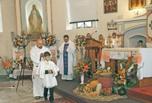 У Верхнядзвінскім касцёле адбыўся парафіяльны фэст