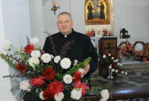 Росіцкі святар адзначыў працоўны юбілей  святам ураджаю