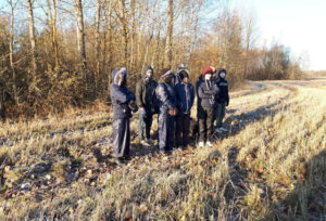 Задержаны нелегальные мигранты