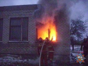 Пожар в котельной