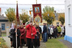 В Верхнедвинске побывали христианские святыни