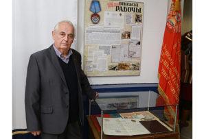 Бывший редактор газеты «Віцебскі рабочы» Владимир Романовский начинал журналистскую карьеру в редакции Верхнедвинской районной газеты.