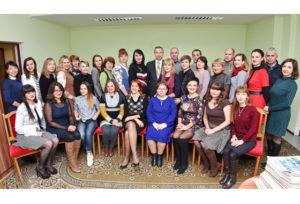 Сегодняшний коллектив редакции газеты «Витебские вести».