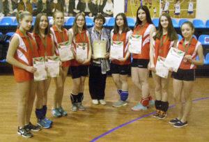 Верхнедвинские волейболистки — в числе призёров республиканской спартакиады