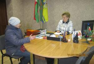 В Борковичском сельсовете выборы встречают конкретными делами