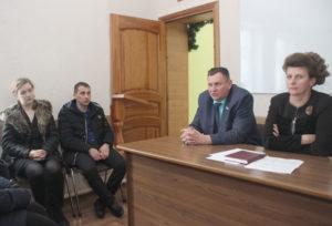 В Верхнедвинске кандидат в депутаты областного Совета встретился с избирателями