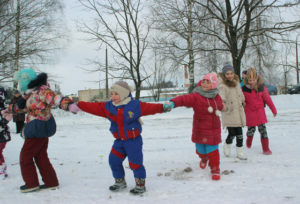 В Верхнедвинске прошёл праздник зимних видов спорта