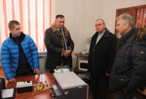 В Верхнедвинске кандидат в депутаты посетил трудовые коллективы