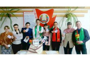 Молодёжь Верхнедвинска принимает участие в избирательной кампании
