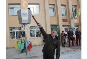 В Шайтерово состоялось торжественное открытие газопровода
