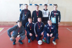 Кубок по мини-футболу — у команды райпо
