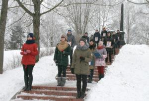 В Верхнедвинском районе прошли мероприятия к 75-летию Освейской трагедии