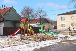 В Верхнедвинске откроется детская игровая площадка