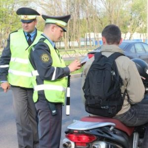 ГАИ усилит контроль за водителями мототранспорта