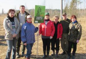 Верхнедвинцы приняли участие в «Неделе леса-2018»