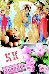 Православные верующие встречают праздник Воскресения Христова!