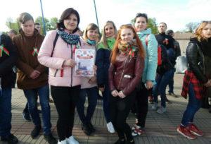 Верхнедвинские юноши и девушки проехали на Поезде Памяти