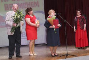Верхнедвинские журналисты поздравили себежских коллег со 100-летием газеты «Призыв»