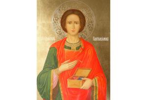 В Верхнедвинск прибудет икона Святого Пантелеимона